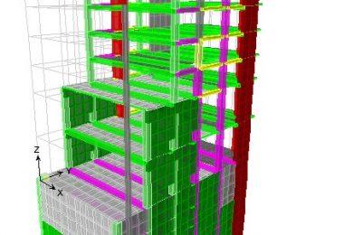 طراحی ایتبز ساختمان 14 طبقه